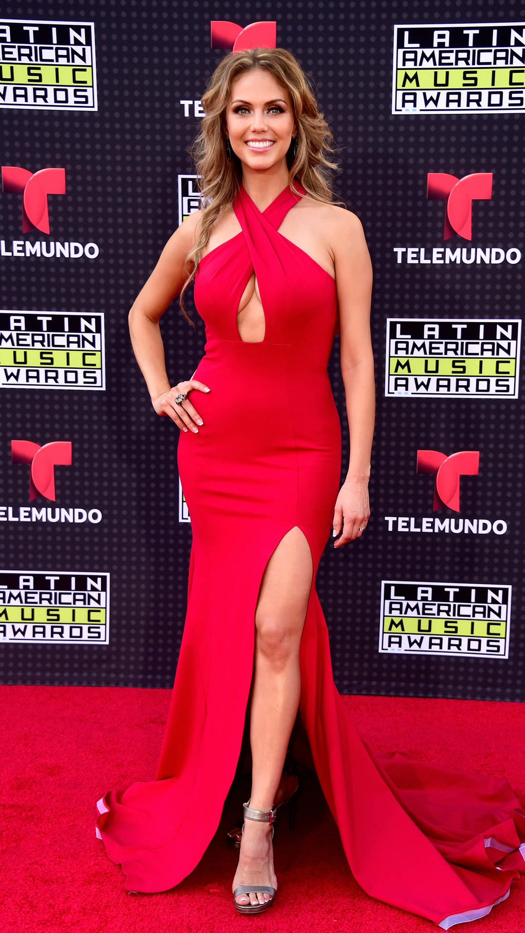 HOLLYWOOD, CA - OCTOBER 08:  Jessica Carrillo attends Telemundo's Latin American Music Awards at the Dolby Theatre on October 8, 2015 in Hollywood, California.  (Photo by Frazer Harrison/Getty Images)