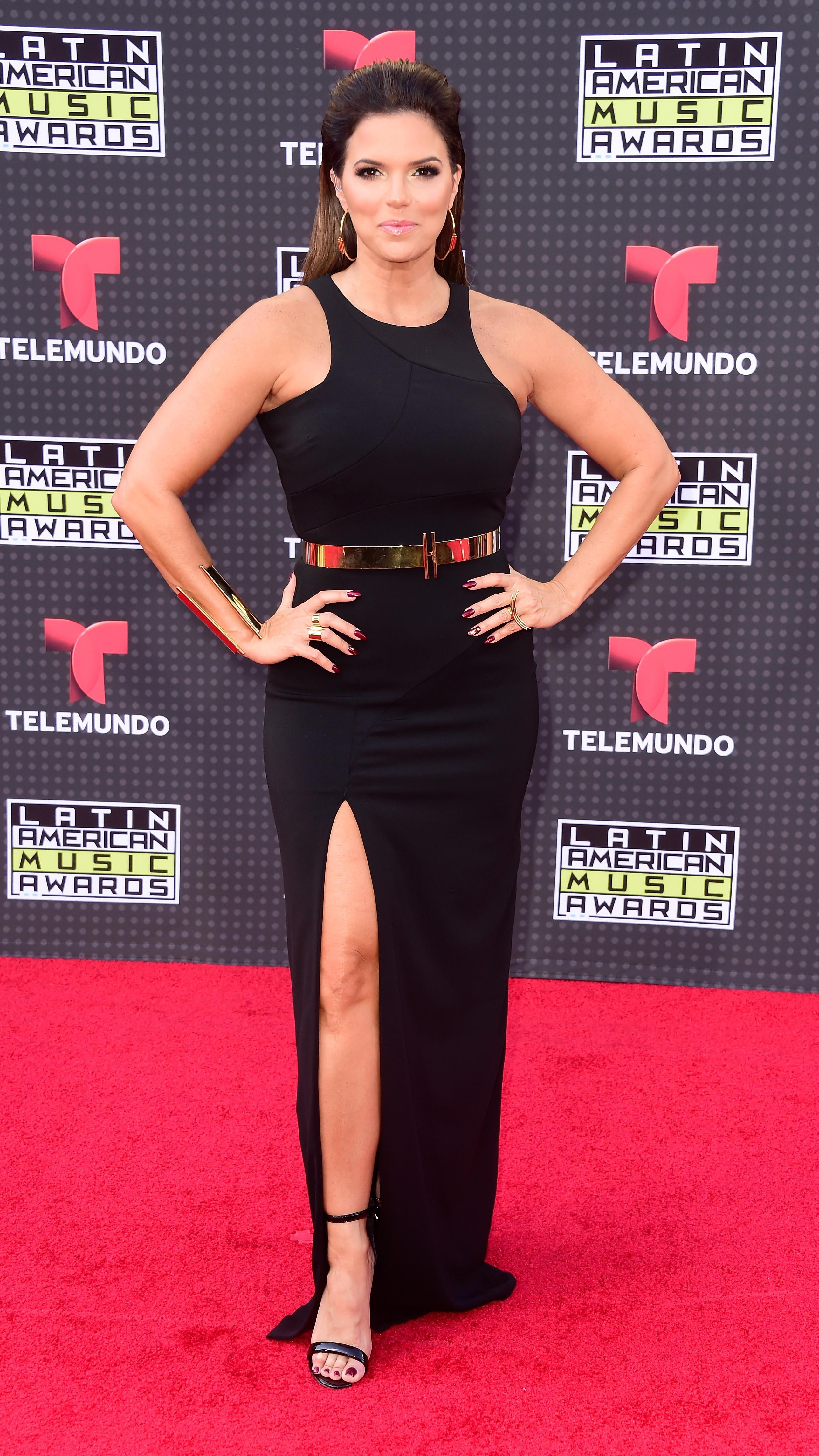 HOLLYWOOD, CA - OCTOBER 08:  Rashel Diaz attends Telemundo's Latin American Music Awards at the Dolby Theatre on October 8, 2015 in Hollywood, California.  (Photo by Frazer Harrison/Getty Images)