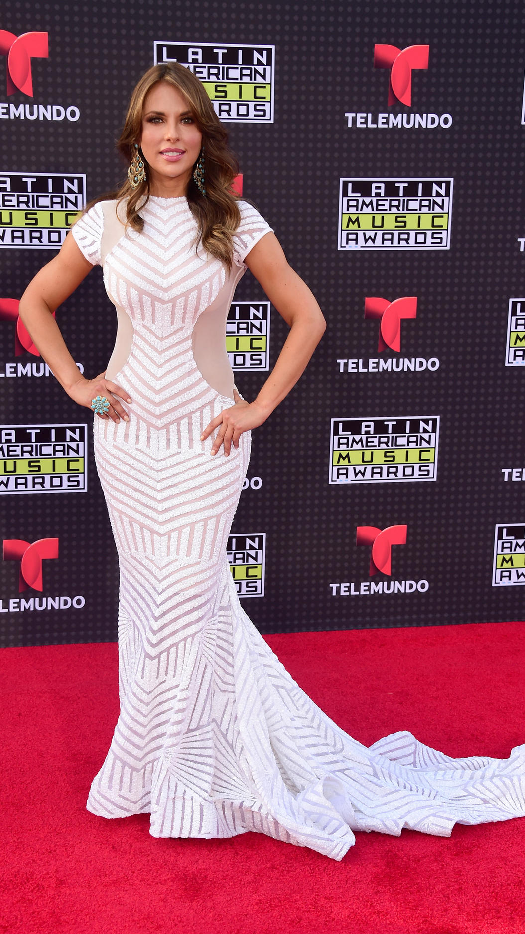 HOLLYWOOD, CA - OCTOBER 08:  Actress Vanessa Villela attends Telemundo's Latin American Music Awards at the Dolby Theatre on October 8, 2015 in Hollywood, California.  (Photo by Frazer Harrison/Getty Images)