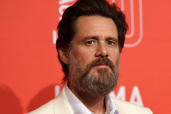 LOS ANGELES, CA - APRIL 18:  Actor Jim Carrey arrives at LACMA's 50th Anniversary Gala at LACMA on April 18, 2015 in Los Angeles, California.  (Photo by Amanda Edwards/WireImage)