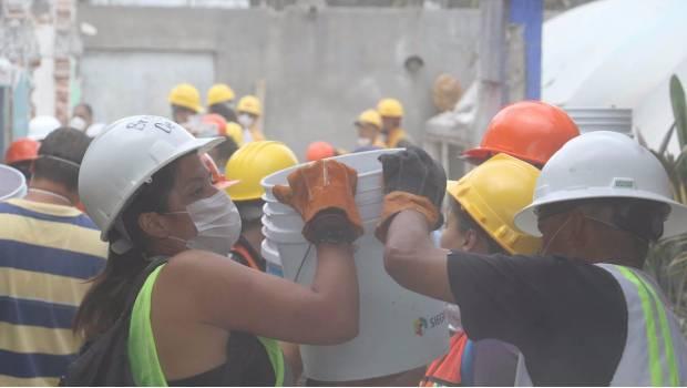 Suman 331 muertos por sismo del 19 de septiembre en México